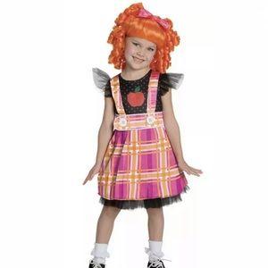 🆕 LaLaLoopsy BEA SPELLS-A-LOT Child Costume 4-6
